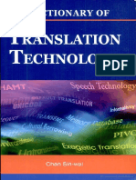 Chan Sin-wai - Dictionary of Translation Technology