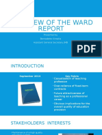 15 11 10 Overview Ward Report