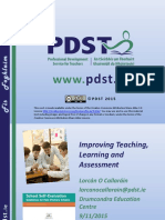 SSE PP Seminar_improving Teaching Learning and Assessment_Final