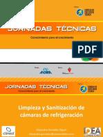 Limpieza y Sanitizacion de Camaras de Refrigeracion