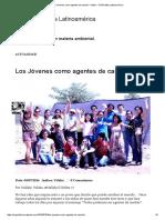 Los Jóvenes Como Agentes de Cambio – Vitalis – ONGVitalis Latinoamérica