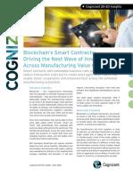 Blockchain's Smart Contracts