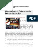 Educacion Artistica en Vinculo Comunitario