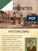 corrientes historicistas