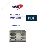 XCell Equipment User Guide 2.01