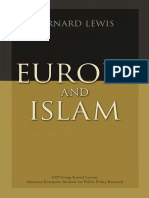 Bernard Lewis - Europe and Islam.pdf