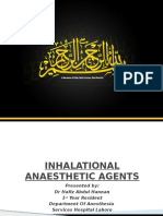 Inhaled Anesthetics by Hannan