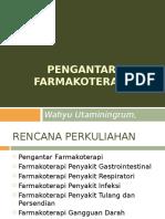 PENGANTAR FARMAKOTERAPI