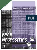 Latest BEAR Necessities WSHS Newsletter