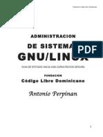 Administracion de sistemas GNU/LINUX