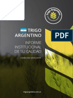 Campaña Trigo 2014-2015