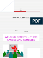 Welding Defects – Causes and Remedies