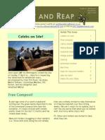Newsletter - April 2010