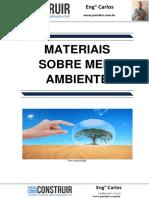 Materiais sobre Meio Ambiente