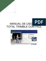 MANUAL Del Software Para Postproceso Trimble Total Control