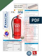 Ficha Tecnica Extintores 8 Kg