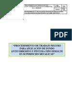 Pts 003-Aplicacion de Pintura Tipo Esmalte y Fondo Anticorrosivo en Superficies Metalicas