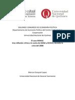 Marcos Lopez El caso MAHLE. Una reflexión crítica a la venta de DANA y EDIVAL, durante la crisis del 2008.
