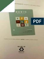 Cuadernillo Rubio Lengua Evolución 2