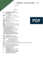 Unix - Commands and Programs - Part 21