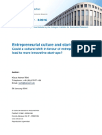 Entrepreneurial Culture IW Policy Paper