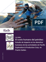 Informe Pacific Rubiales