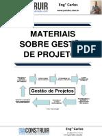 Materiais sobre Gestão de Projetos