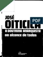 OITICICA, José. a Doutrina Anarquista Ao Alcance de Todos