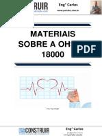 Materiais sobre a OHSAS 18000