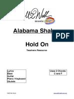 Alabama Shakes Hold On