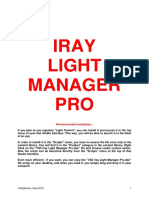 Iray Light Manager PRO ReadMe