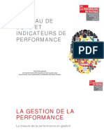 Presentation Tableau de Bord Et Indicateurs de Performance