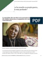 """Perú_ """"Es Un País Que No Ha Resuelto Su Propia Guerra, Tenemos Un Duelo Muy Profundo"""" _ Internacional _ EL PAÍS"""