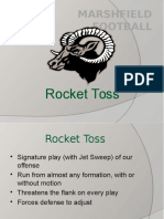 Rocket Toss Updated