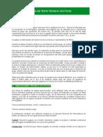 Documentos de Tecnica