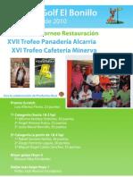 23 de Mayo Torneo Restauración Alcarria Minerva