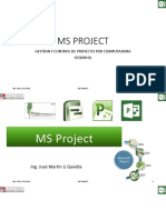 Ms Project Sesion 01