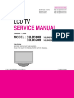LG 32LD320H MFL66280202_0 LCD TV SM