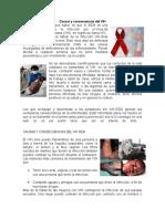 Causas y Consecuencias Del VIH