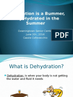 dehydration is a bummer stay hydrated in the summer