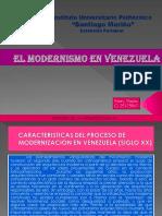 Modernismo en Venezuela Marypaolo