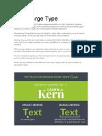 Kern Large Type
