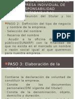 Pasos Para La Constitucion de Una Empresa Individual 1