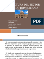 Estructura Del Sector Publico Dominicano