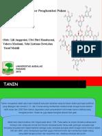 Tanin (Anti Nutrisi)