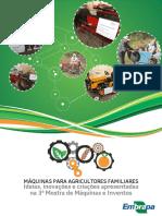 Embrapa Clima Temperado Livro Maquinas Para Agricultores Familiares