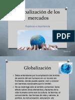 PEM 8 Globalización de Los Mercados