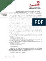 Preguntas Pleno 13-05-2016 Memoria Historica