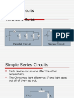 Simple Circuits and Kirchoffs Laws