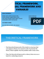overview on Theoretical and Conceptual Framework